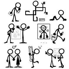 stock-illustration-20634317-stick-figure-people-art-critic