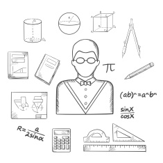stock-illustration-83728429-mathematician-or-teacher-sketch-with-objects