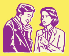 stock-illustration-26502895-man-and-woman-in-conversation