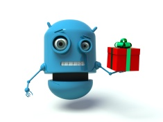 stock-photo-50770240-cute-blue-robot-holding-a-gift