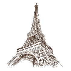 stock-illustration-43353190-paris-city-hand-drawn-vector-illustration