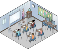 stock-illustration-9984415-isometric-sala-de-aula